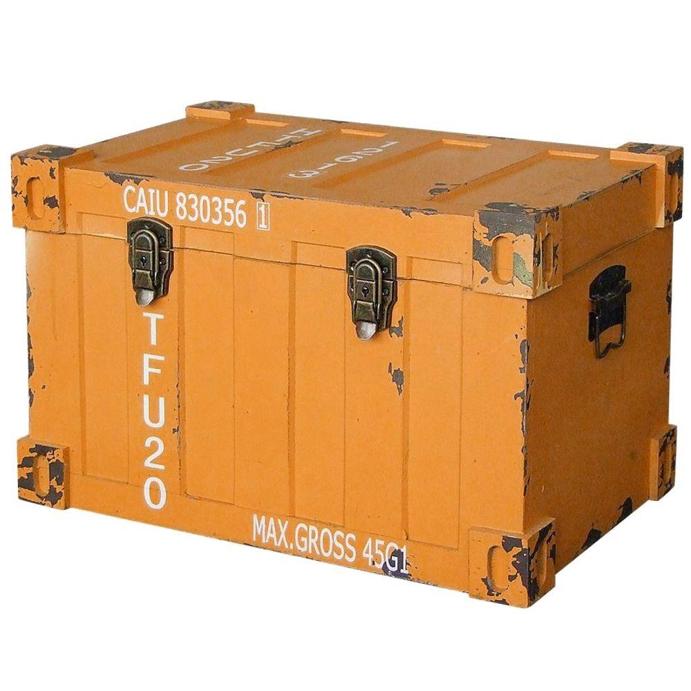 Kommode 3 tlg. Container Design Aufbewahrungskiste Aufbewahrungsbox Truhe Kiste – Bild 4