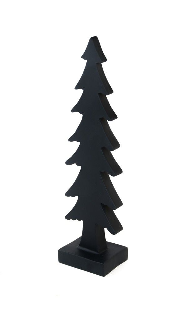 Deko Weihnachtsbaum aus Polyresin 51cm – Bild 2