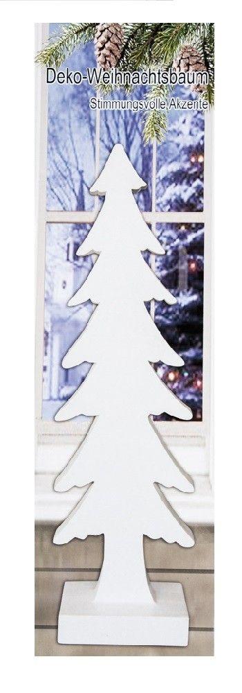 Deko Weihnachtsbaum aus Polyresin 51cm – Bild 3