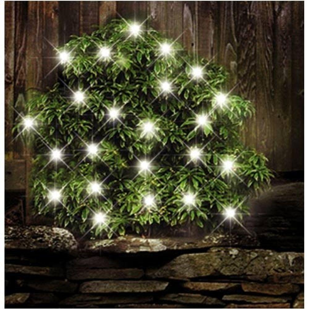 24 LEDs Solar-Lichterkette Außenbeleuchtung Solarlampe Gartenleuchte Weihnachten – Bild 1