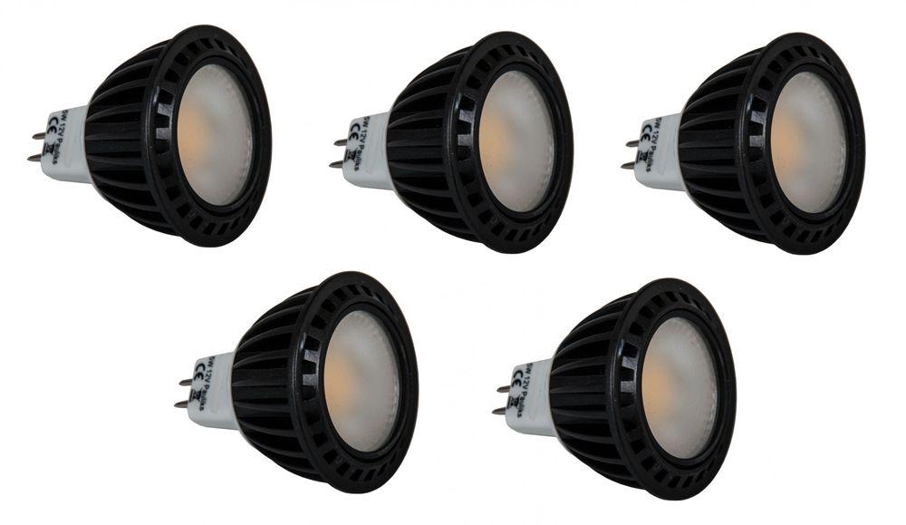 5x LED COB Lampe warn weiß Spot MR16 5Watt Leuchte Strahler Flutlicht Einbau neu – Bild 1