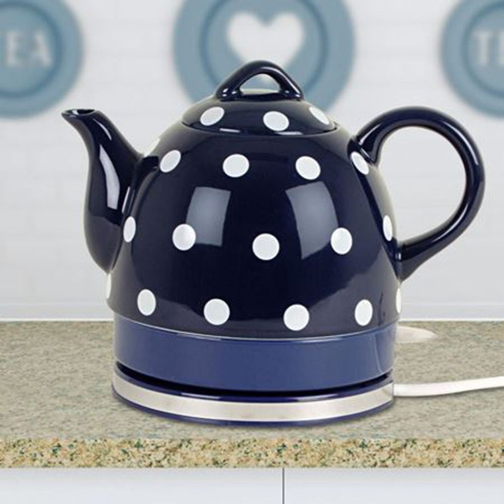 Keramik-Wasserkocher 1 Liter Nostalgie – Bild 6