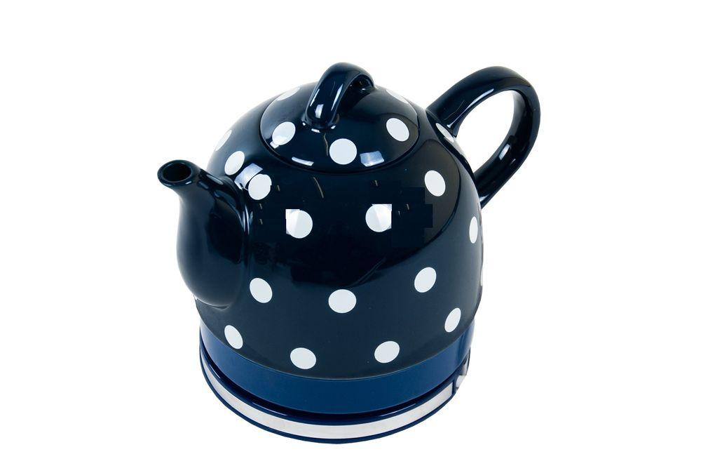 Keramik-Wasserkocher 1 Liter Nostalgie – Bild 3