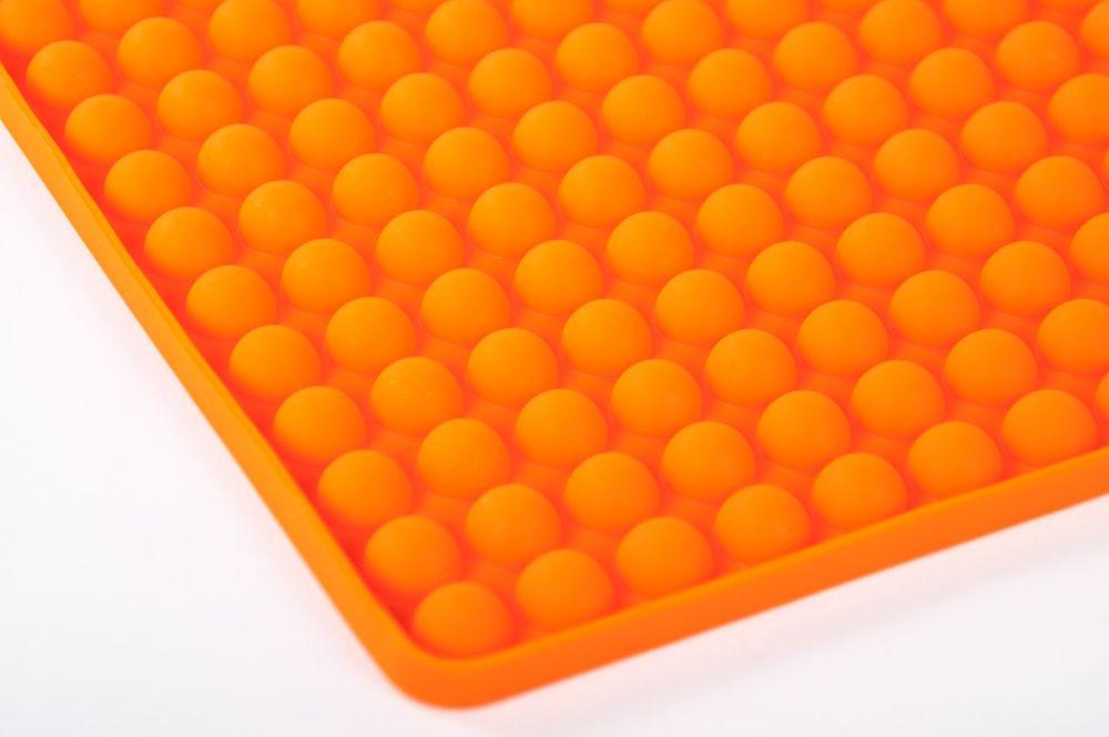 Silikon Backunterlage Backpapier Teigmatte Backmatte Teigunterlage Ausrollmatte – Bild 2