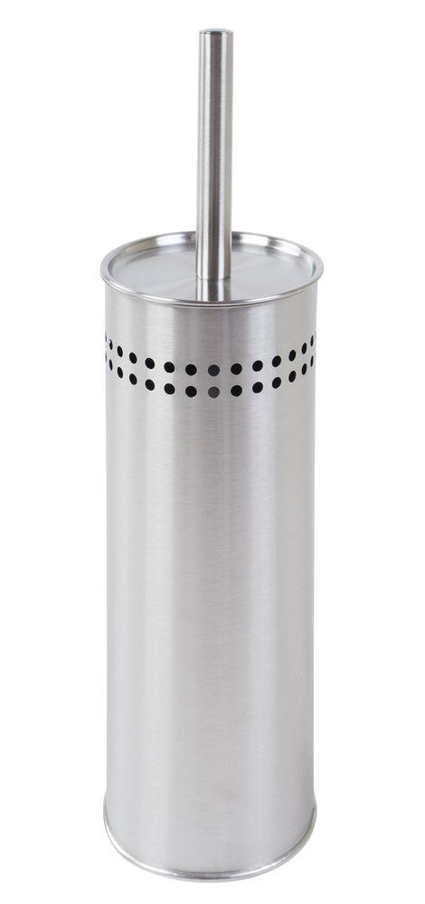 Edelstahl WC-Garnitur Bürstenhalter Toilettenbürste Toilettengarnitur Klobürste  – Bild 1