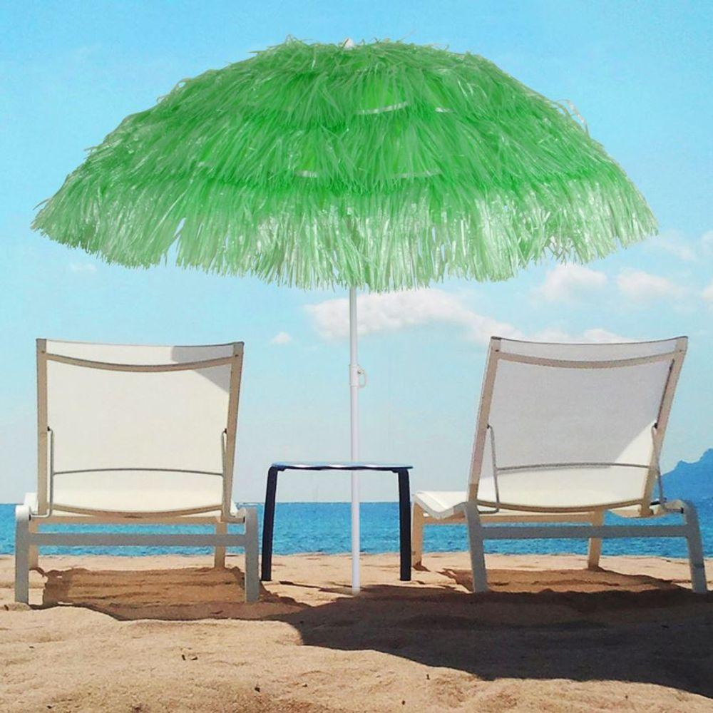 Bast-Sonnenschirm Strandschirm Hawaiischirm Gartenschirm Party Schirm Bastschirm – Bild 11