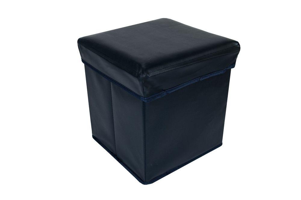 Faltbarer Sitzwürfel Aufbewahrungsbox Sitzhocker Sitzbank Truhe Fußbank 30x30x30 – Bild 3