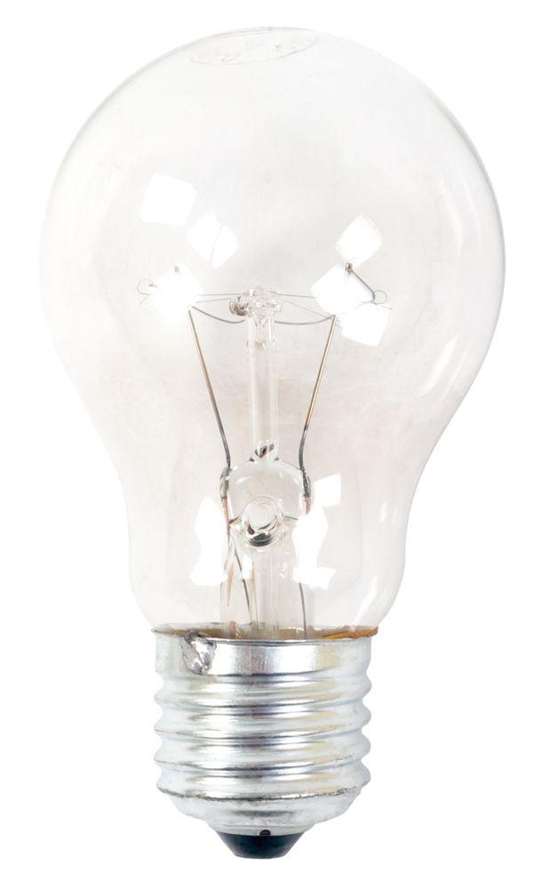10x Zozoco Glühlampe E27 Birnenform Glühbirne 60 Watt klar Glowbulb  – Bild 2