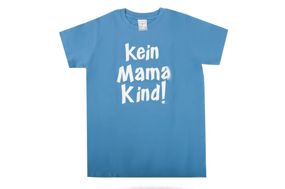 Fun t-Shirt Kein Mama Kind