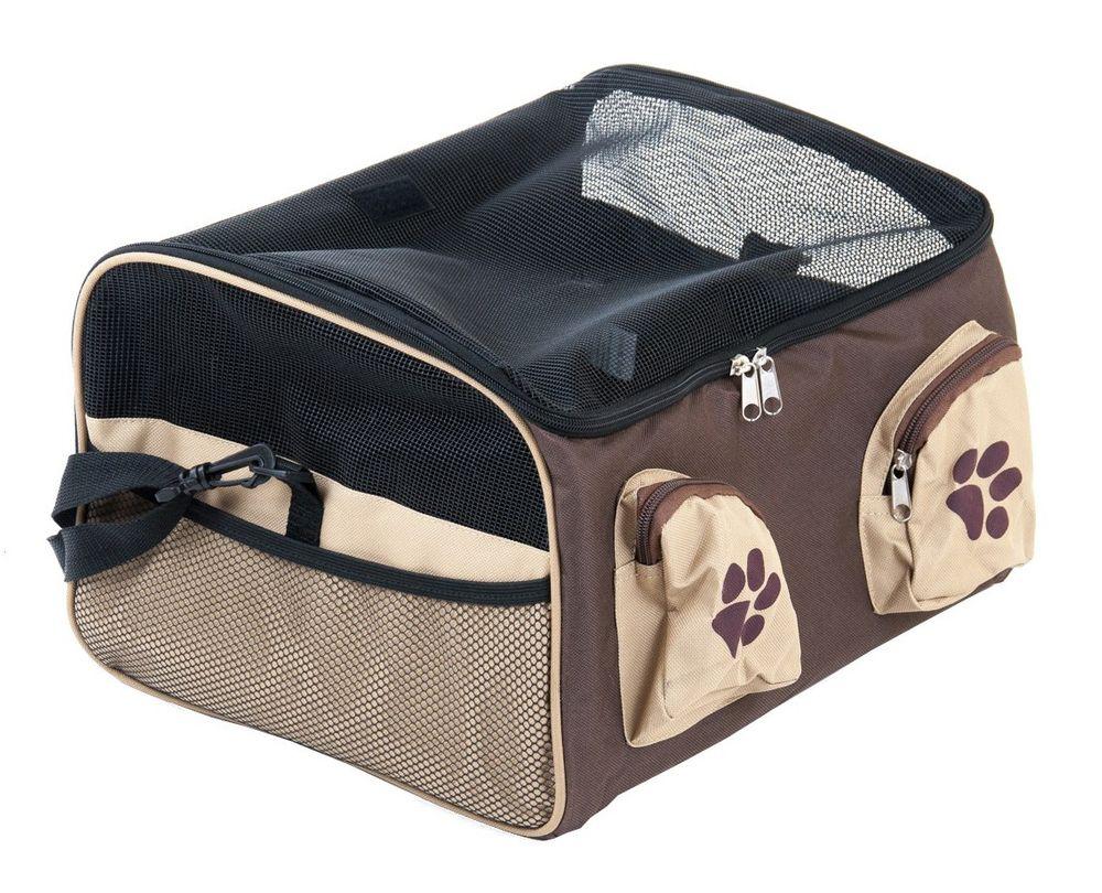 Transporttasche Hunde Katzen Autositz Hundesitz Tragetasche Transportbox Reise – Bild 1