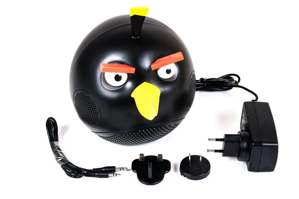 Gear 4 Angry Birds Lautsprecher Sub-Woofer mini Speaker Soundstation Smartphone – Bild 1