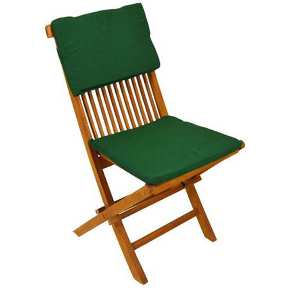 Auflagenset Modena 2tlg. Gartenstuhlauflage Sitzkissen Stuhlkissen mit Bänder – Bild 3