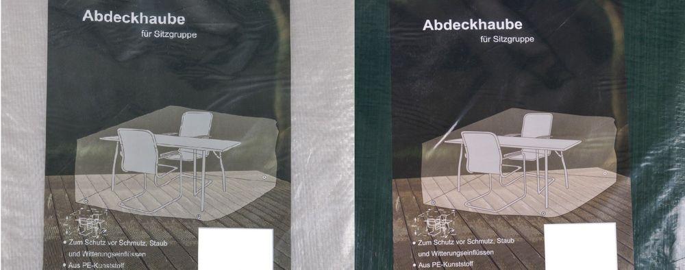 Abdeckhaube für Sitzgruppe Schutzhülle Schutzhaube Sitzgruppenhülle 170x150x95cm – Bild 1