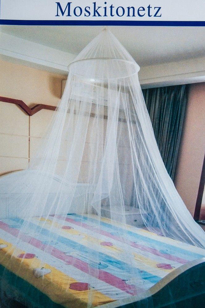 Moskitonetz für 2 Personen Doppelbett Fliegengitter Insektenschutz Betthimmel  – Bild 6