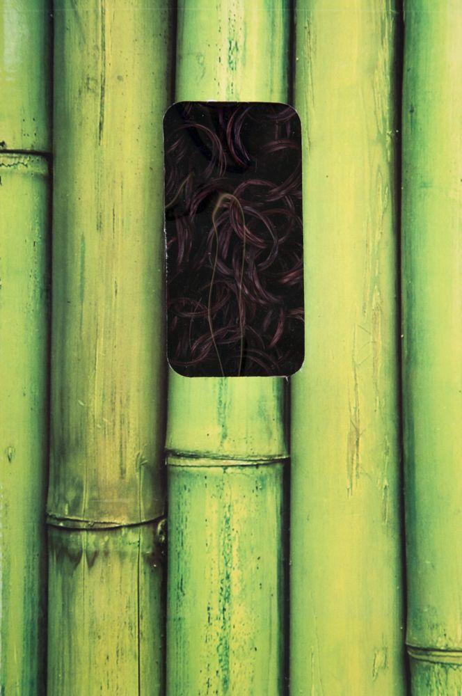 Türvorhang aus Bambus Buddha Strings Dekovorhang Bambusvorhang Perlenvorhang Neu – Bild 3