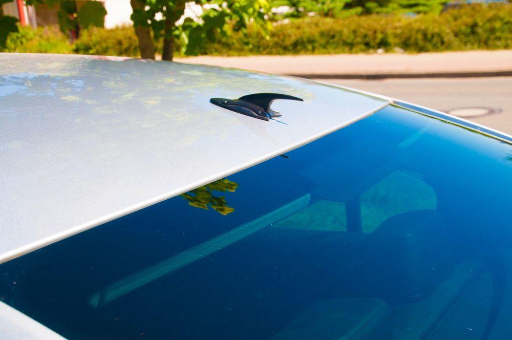 Dachantenne Dachspoiler Atrappe Haifischflosse Autoantenne Shark PKW Tuning KFZ – Bild 2