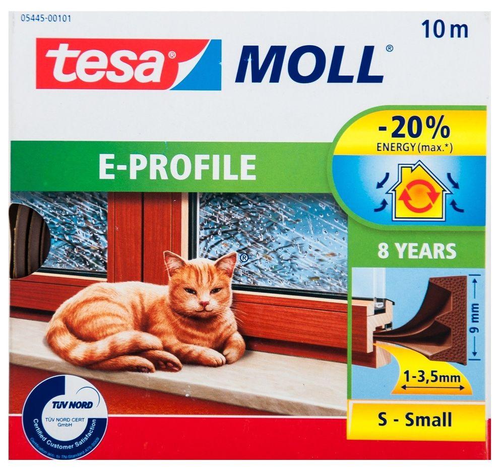 Tesa Moll Profile 10m 6m Fensterdichtung Türdichtung E-Profil P-Profil Superflex – Bild 3