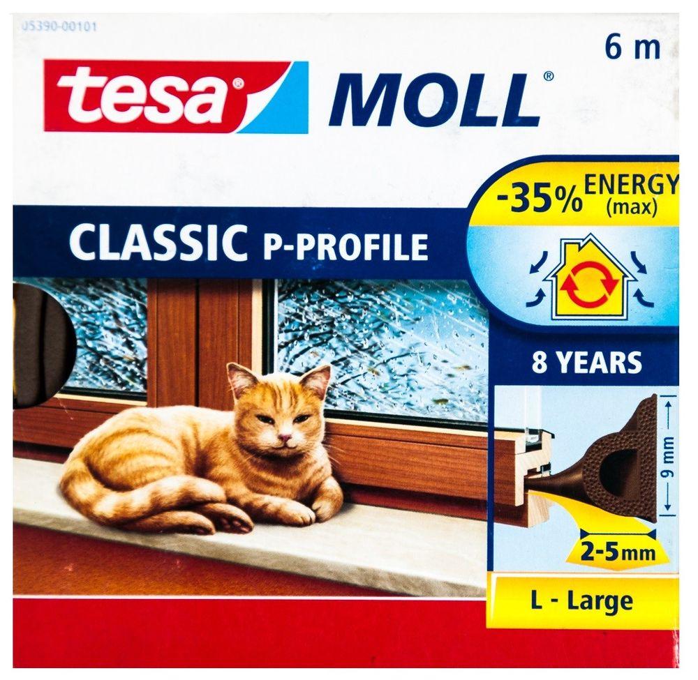 Tesa Moll Profile 10m 6m Fensterdichtung Türdichtung E-Profil P-Profil Superflex – Bild 8