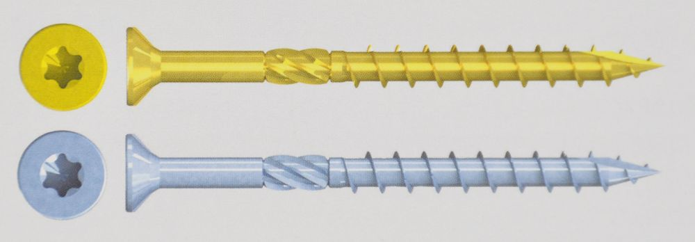 Reisser HSK Holzschrauben Vi-Port Q500 Torx Spanplattenschrauben TX40 Senkkopf – Bild 2
