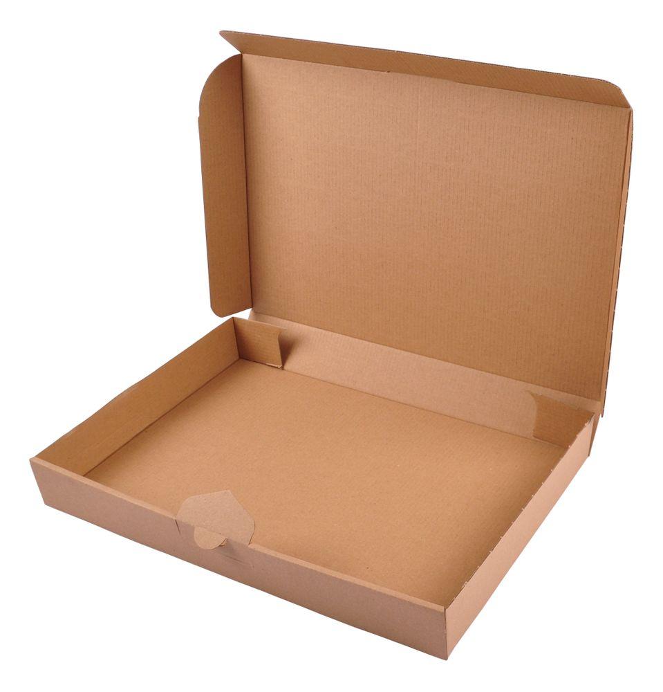 Maxibriefkarton braun 34,5x24x4,5cm Faltkarton Versandkarton Versandschachtel