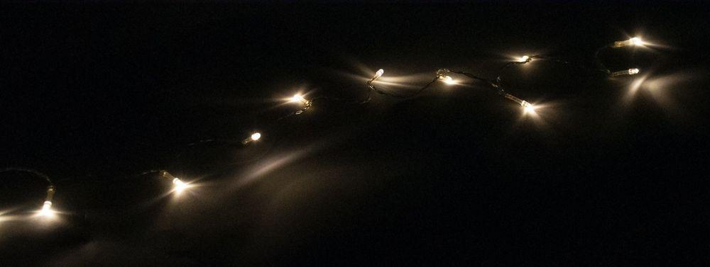 LED-Lichterkette 10-LED Dekolichter Leuchtkette Beleuchtung Weihnachtsdeko Neu – Bild 1