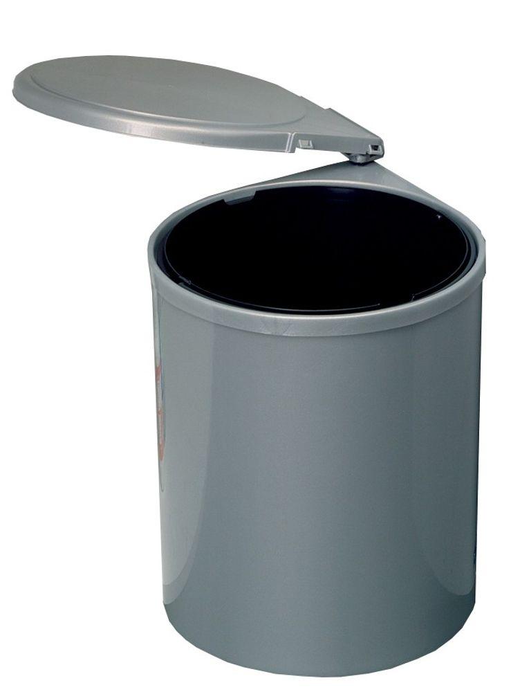1-Fach Abfallsammler rund