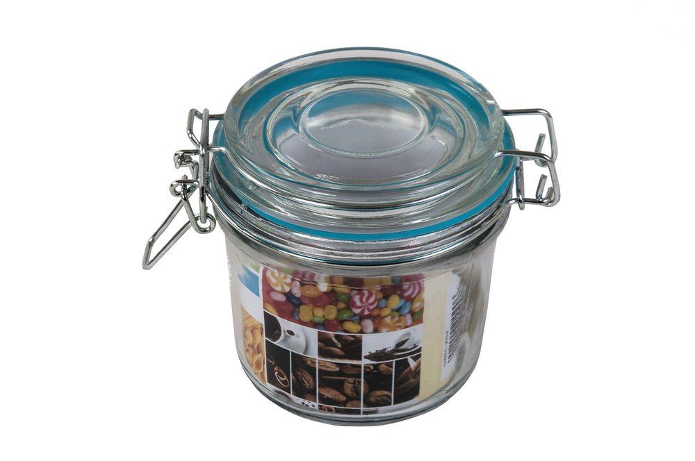 Drahtbügelglas 350ml Einmachgläser Einweckglas Vorratsglas Marmeladengläser – Bild 3