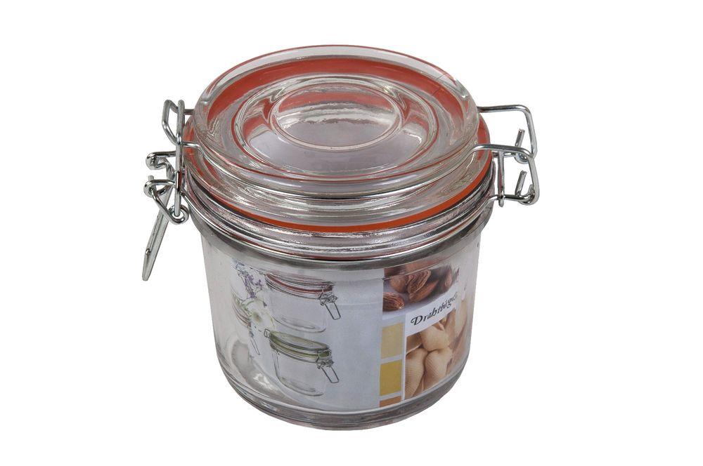 Drahtbügelglas 350ml Einmachgläser Einweckglas Vorratsglas Marmeladengläser – Bild 5