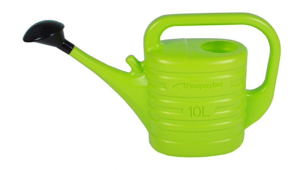 Gießkanne 10L Limone mit Gießerhalter Wasserkanne Bewässerung Garten Blumen neu