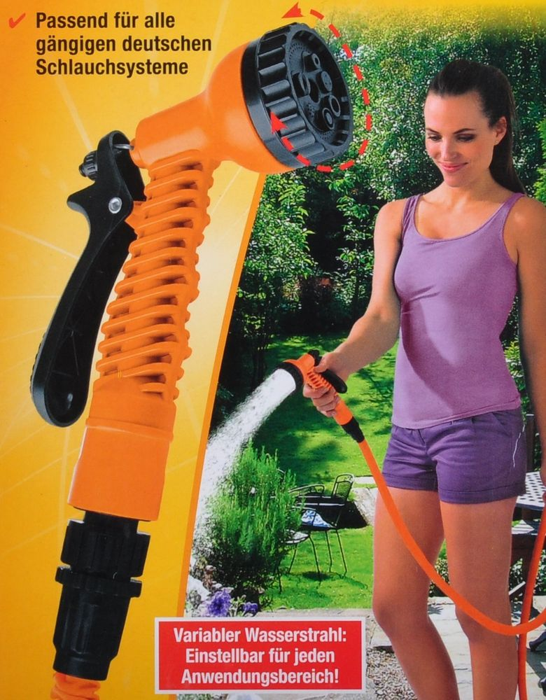 Magic MAXX Multifunktions-Brause Gartenbrause Wasserspritze Bewässerung Garten  – Bild 4