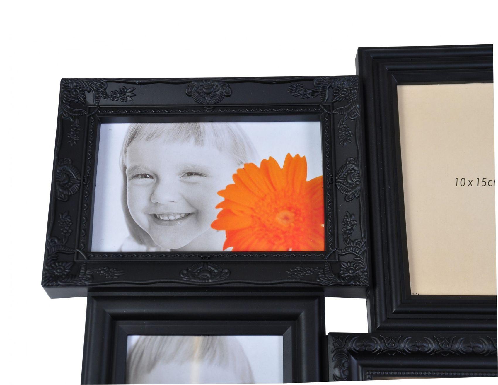 3D Collage Antik Bilderrahmen Fotorahmen Shabby Barock Galerierahmen ...