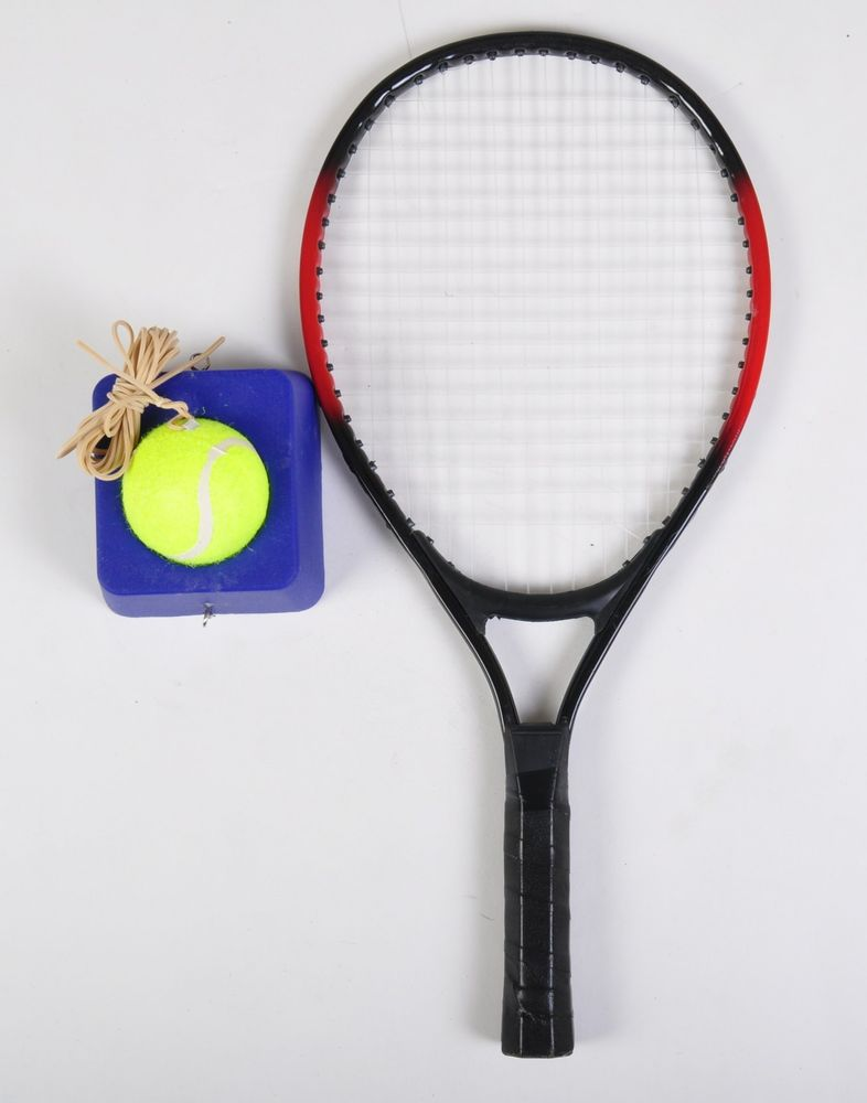 Trainingsset Tennis-Trainer Ball-Base Tennisschläger Tennisball Schlagtrainer