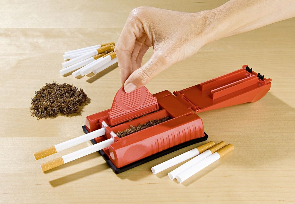 Zigaretten Stopfmaschine Zigarettenstopfer Tabak Stopfmaschine zum selbst Drehen – Bild 4