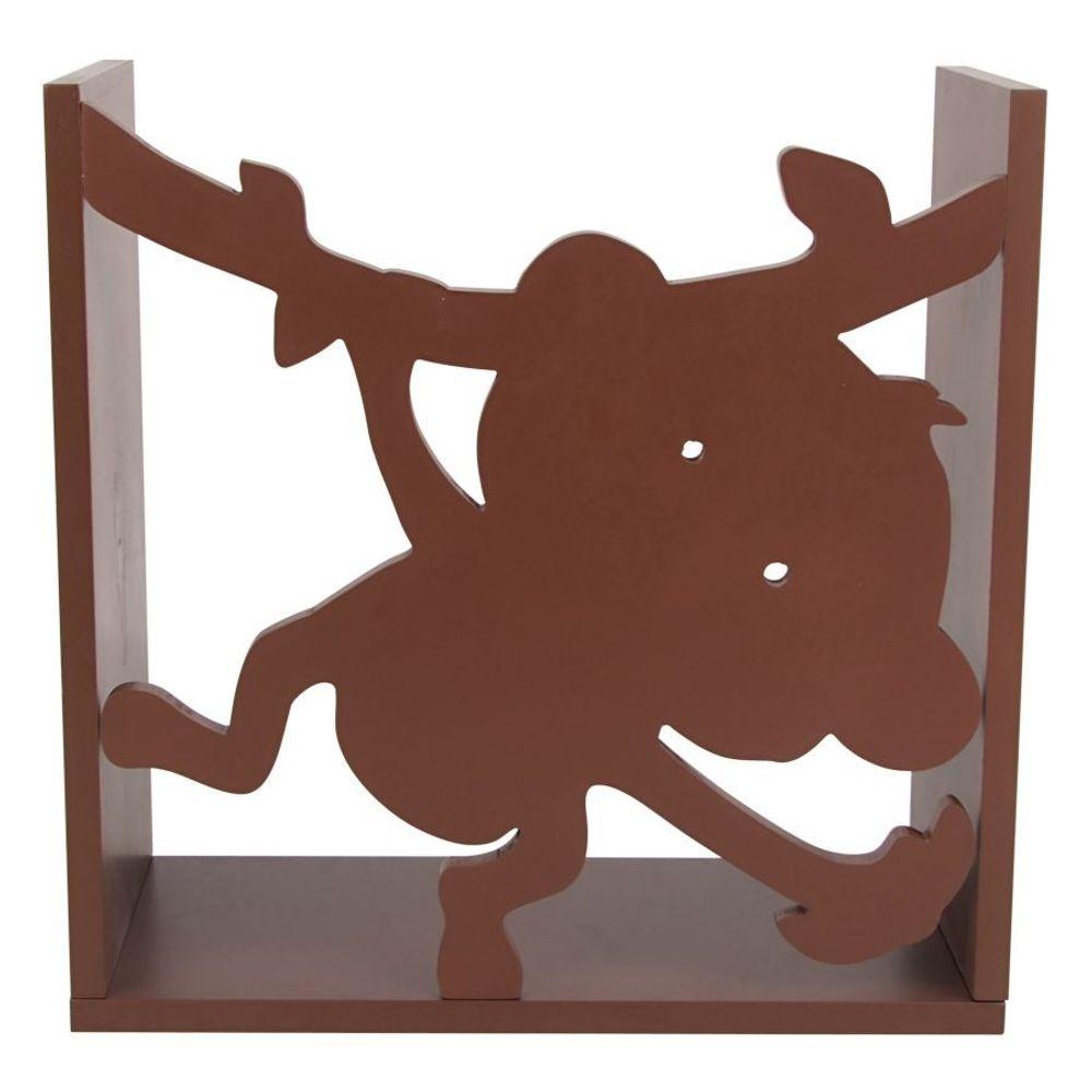 Kinderregal Affe Spielzeugregal Wandregal Regal Kinderzimmer Aufbewahrung Bücher – Bild 6