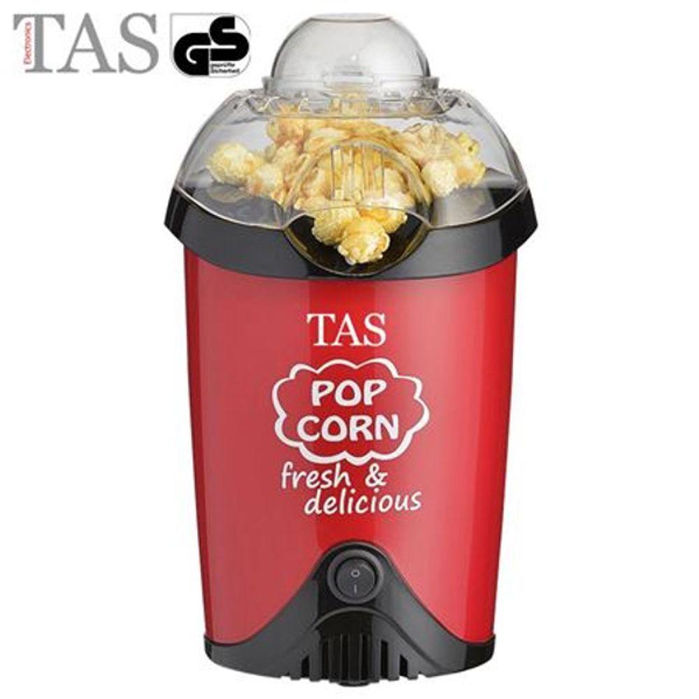 TAS Popcornmaschine 1200W rot Popcorn Popcornautomat Popcornmaker Party Kino
