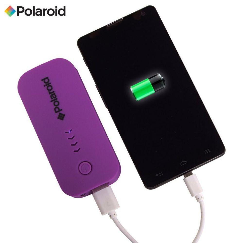 Polaroid Powerbank Mobiler Akku-Pack 4000mAh Aufladestation externes Ladegerät – Bild 6