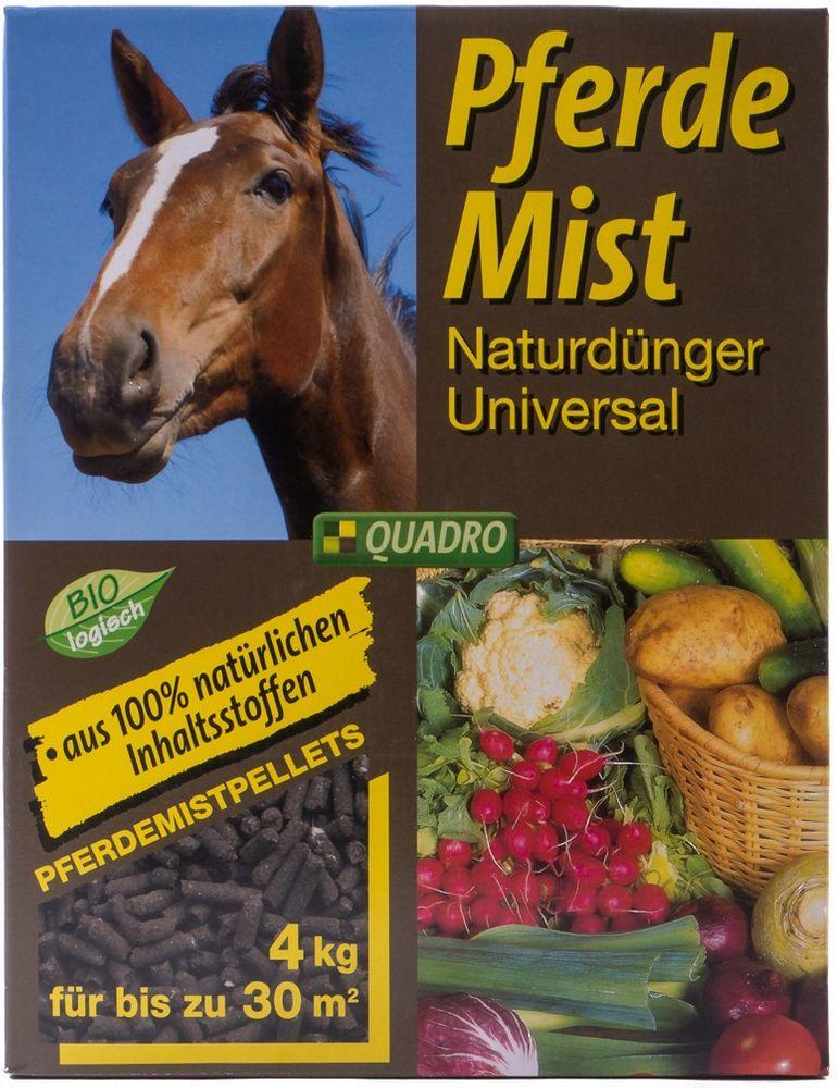 Pferdemist 4kg pellettiert Naturdünger Dünger natürlich Garten bis ca. 30 m²  – Bild 1