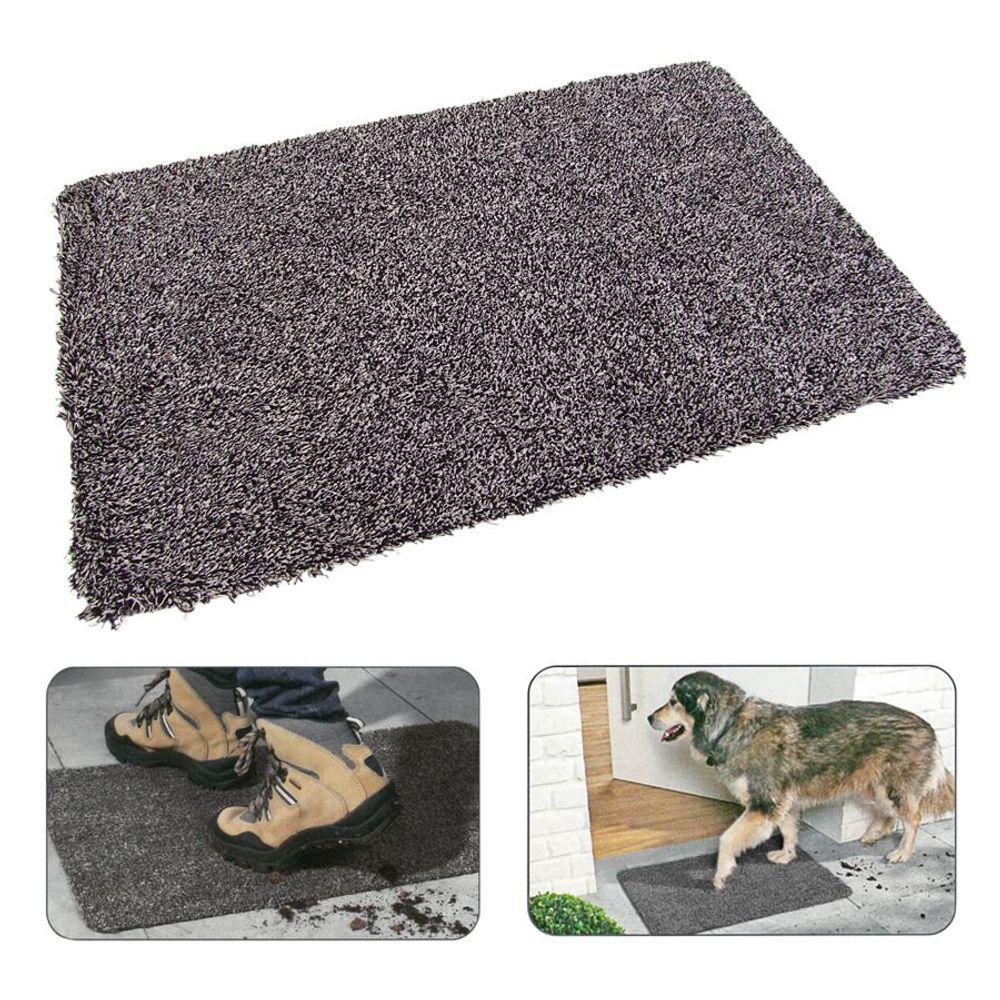Sauberlaufmatte Schmutzfangmatte Fußabtreter Fußmatte Türmatte Läufer 70x45cm – Bild 1