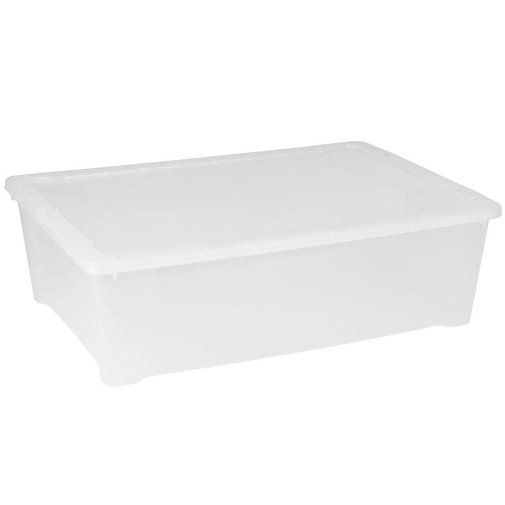 Klarsichtbox Stapelbox Ordnungskiste Aufbewahrungbox Allzweckbox Spielzeugkiste – Bild 2