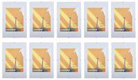 10er-Set Rahmenlos Bilderhalter Bilderrahmen 20x30 cm Poster Fotorahmen modern 001