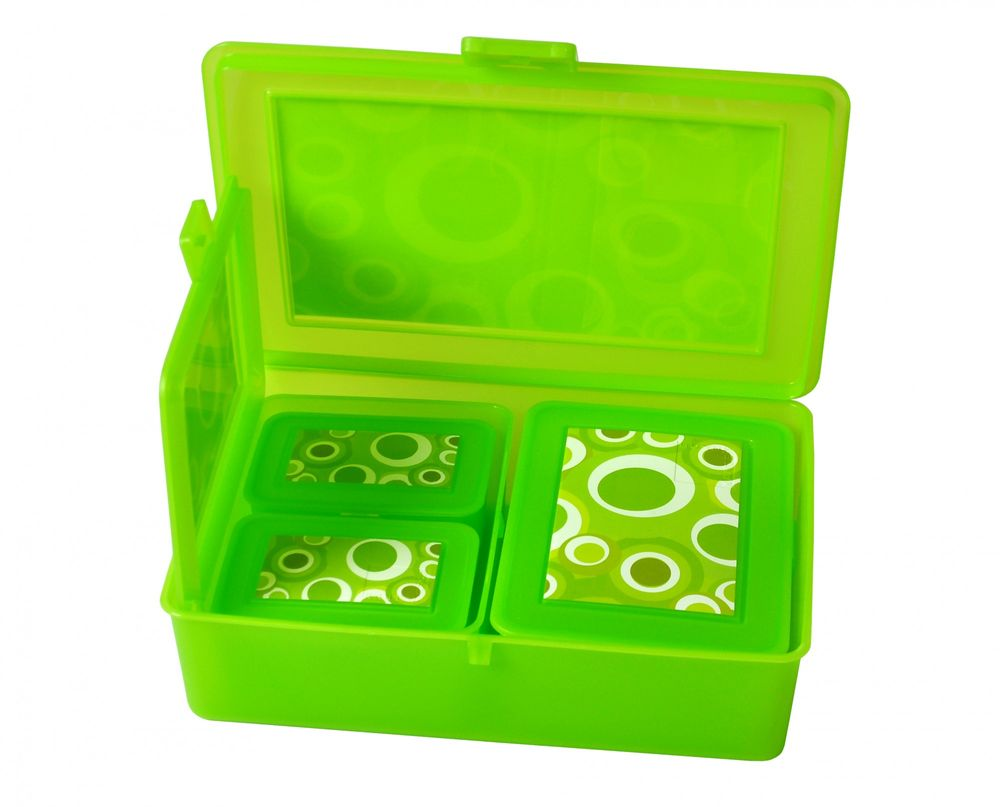 5er-Dosenset E&K Lunchboxen Snackboxen Brotdose Aufbewahrung Schule Picknick Box – Bild 5