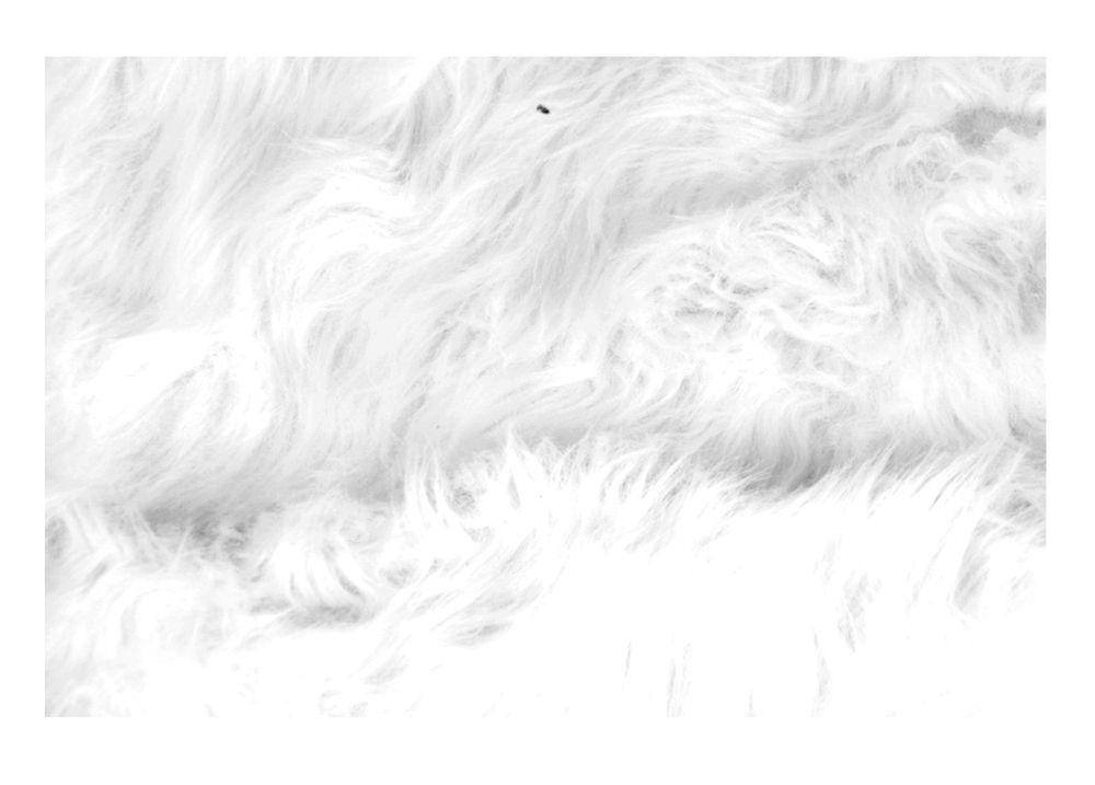 Kunstfellteppich Auflage Vorleger Bettvorleger Teppich Fellteppich 60x90x5cm  – Bild 3