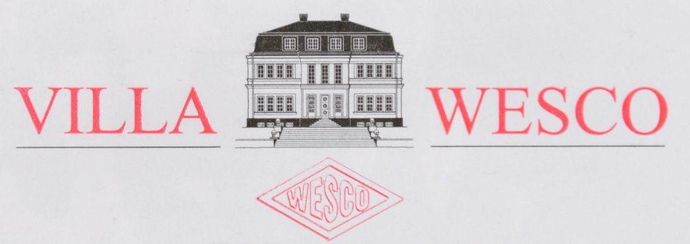 Villa Wesco Keramik Bad Set weiß 4tlg. Seifenspender Zahnputzbecher Badgarnitur  – Bild 3
