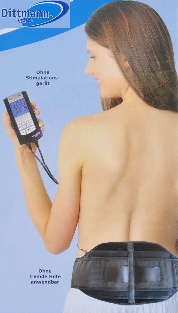 Dittmann Rückenschmerzgürtel RGT 284 für Tensgeräte Rücken Schmerztherapie neu – Bild 1