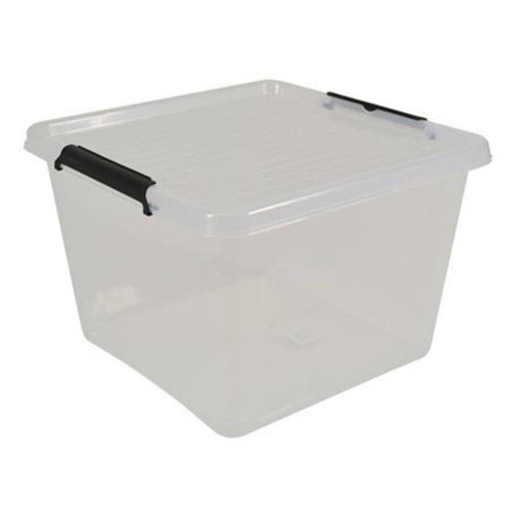 Box-One 32L Allzweckbox Aufbewahrungsbox Box mit Deckel Aufbewahrung Tragebox