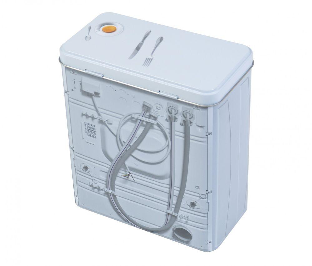 Geschirrspülmittelbox Metall Aufbewahrungsbox Blechdose Geschirrspültabs  – Bild 5