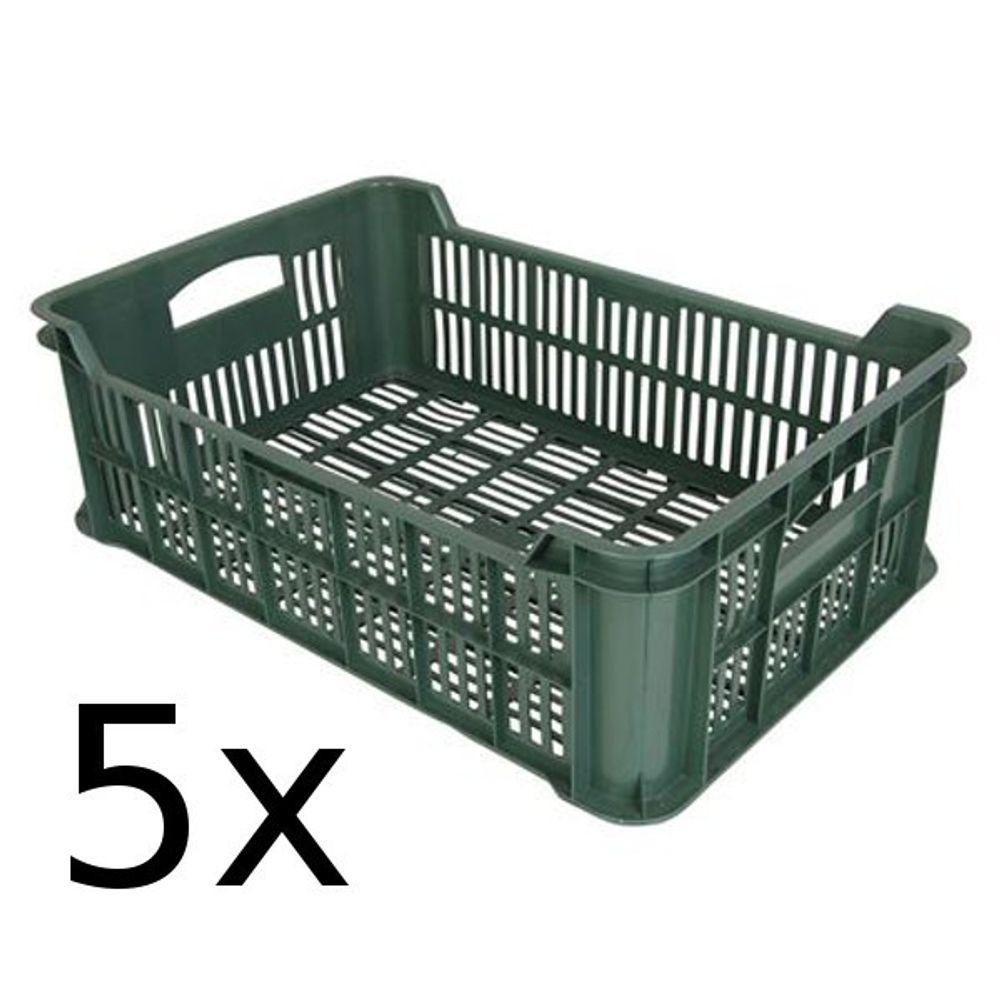 5x Obst- und Gemüsekiste Kartoffelkiste Kiste Lagerkiste Gemüse Transportkiste  – Bild 1