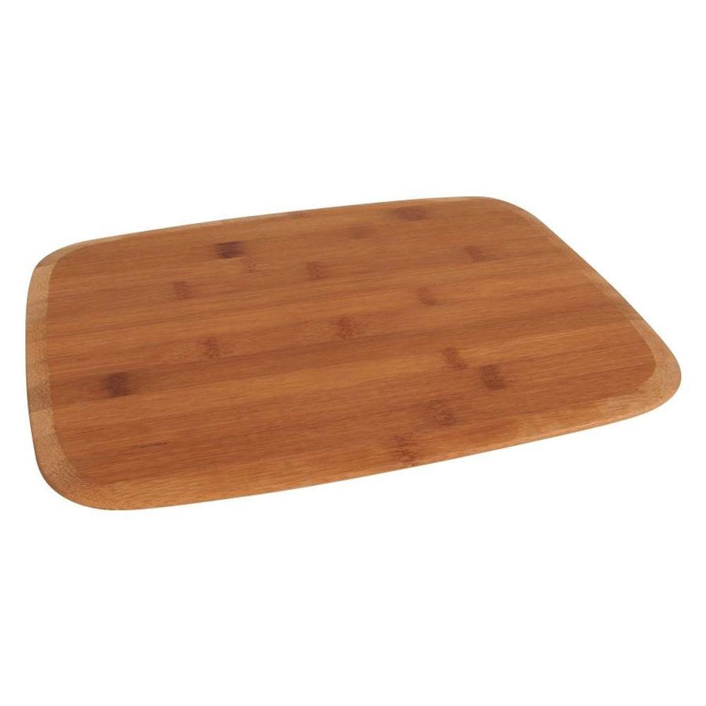 Bambus-Schneidebrett 38x28cm Küchenbrett Buffetplatte Holzbrett Tranchierbrett  – Bild 1
