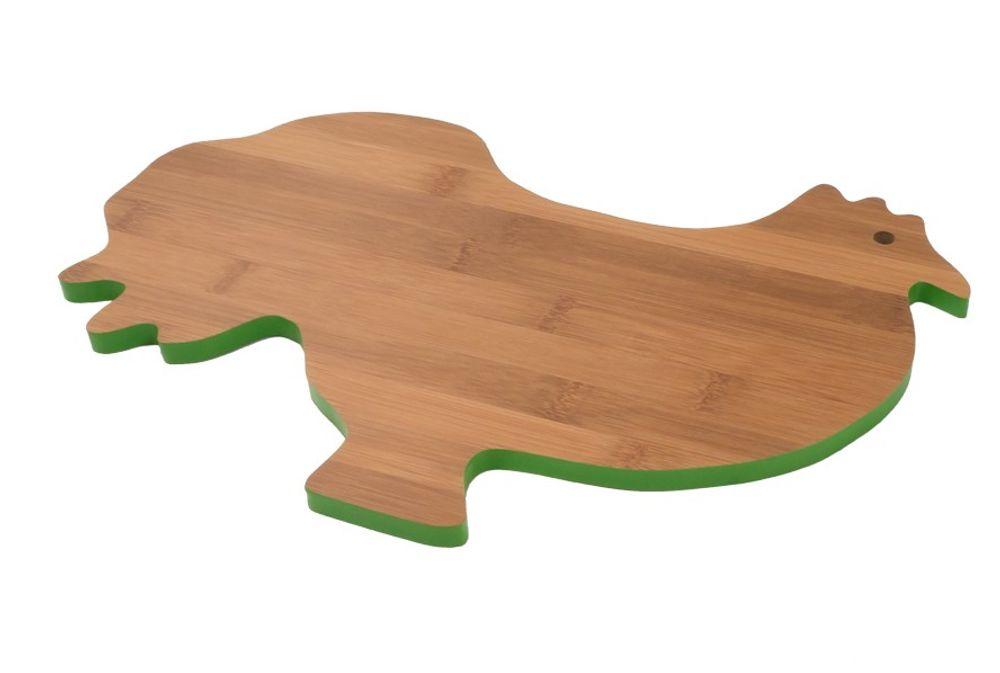 Bambus Schneidebrett Tierdesign Brotzeitbrett Küchenbrett Holzbrett Stullenbrett – Bild 2