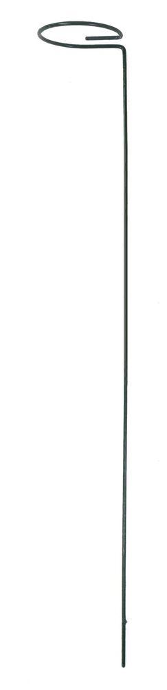 Blütenstütze aus Metall 90x7,5cm Blütenhalter Stützring Pflanzenstütze Stützstab
